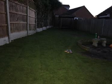 Turf Laid In Canvey