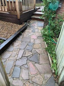 Cleaned Patio in Westcliff on Sea